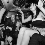 THE FAMILY - Mitch Pyle in a limo with friends on his birthday